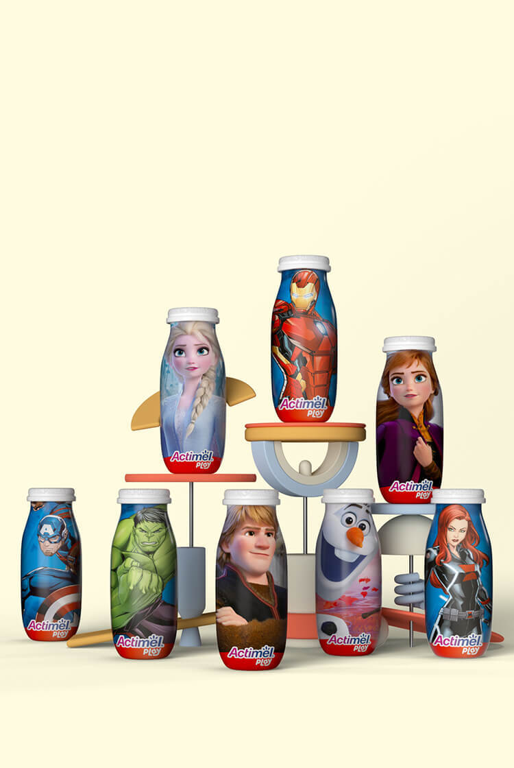 Actimel Play Mobile Background